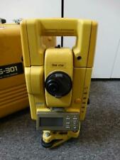 Topcon Gts-300 Gts-301 Electronic Total Station with Case Surveying Instrument