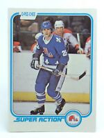 1981-82 Peter Stastny #286 Quebec Nordiques O-Pee-Chee Action Hockey Card H428