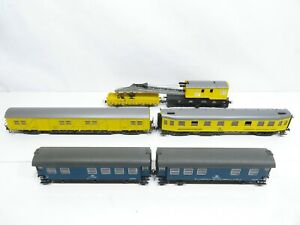 Roco H0 (DC) Kranwagen-Set Bauzug der DB 6-teilig