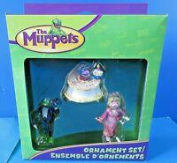 AMERICAN GREETINGS The Muppets ORNAMENT GIFT SET ~ NIB NEW