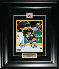 Ray Bourque Boston Bruins Signed 8x10 NHL Hockey Memorabilia Collector Frame