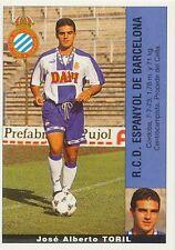 JOSE ALBERTO TORIL # ESPANA RCD ESPANYOL STICKER CROMO PANINI LIGA 1996 ESPANA