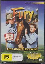 FURY - 4 CLASSIC TV EPISODES - DVD