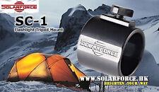 Solarforce SC-1 Flashlight Tripod Mount for Solarforce & Surefire flashlight