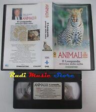 film VHS ANIMALI IN PRIMO PIANO IL LEOPARDO De Agostini 1994  ( F4 * * ) no dvd