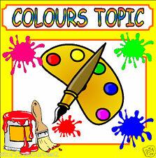 COLOURS Teaching Resources EYFS KS1 Teacher Topic resource Childminder MATHS SEN
