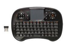 Trust Tocamy Wireless Entertainment Keyboard 18007 Teclado inalámbrico, USA