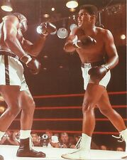 MUHAMMAD ALI vs  SONNY LISTON 8X10 PHOTO BOXING PICTURE COLOR