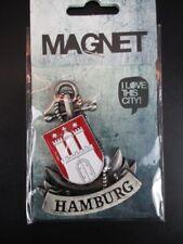 Hamburg Wappen Anker 3D Metall Fridge Magnet Souvenir Germany,Neu !