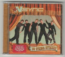 "Nsync cd ""No Strings Attached"" 2000 Jive New Sealed 12 Trax N-Sync 012414170224"