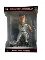 New York Yankees Chien-Ming Wang Forever Collectibles Blatinum Bobblehead Pose 2