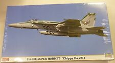Hasegawa 1/72 F/A 18E Super Hornet Chippy Ho 2014 Model Kit 2111