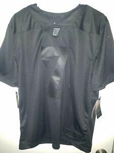 Nike Colin Kaepernick Icon 2.0 Jersey Black/Black CN5314-011 Men's Size M