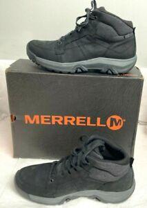 Merrell Anvik Pace Mid WP Seal Black 10.5 M US