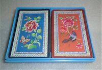 "Vintage Hallmark Bridge Playing Cards ""Oriental Elegance"" Double Deck"