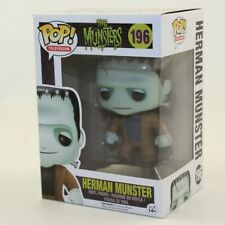 Funko POP! TV - Munsters Vinyl Figure - HERMAN #196 *NON-MINT BOX*
