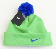 298c067084187a Nike Boys Beanie Hat Youth Blue and Green Size 8/20 Winter Girls Child
