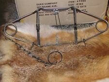 1 DUKE 160 BODY TRAPS RACCOON, MUSKRAT, MINK FISHER, GROUNDHOG new sale