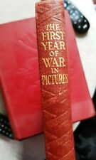 More details for the first to sixth year of the war in pictures - odhams press ww2 hardback books