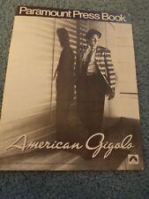 AMERICAN GIGOLO(1980)RICHARD GERE ORIGINAL PRESSBOOK