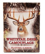 Rivers Edge Whitetail Deer Mossy Oak Camouflage Playing Cards