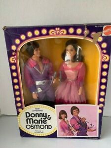 Donny and Marie Osmond 2 Pack Dolls Mattel 1976 Vintage