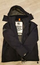 Men's Superdry Windcheater Jacket Size XXL With Fleece Lining