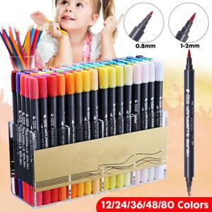 48 Stk Acrylstifte Marker Satz Acrylfarben Acrylic Pen Für DIY Graffiti Steine
