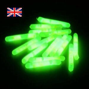 10-50 Glow Sticks Sea Carp Coarse Fishing Float Fluorescent Rod Tip Night Lights