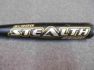 "EASTON Sc900 Stealth CNT Baseball Bat 33"" 30oz 2 5/8"" barrel carbon nanotube VGC"