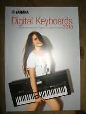 Yamaha Digital Keyboards 2018 catalog