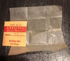 NOS Longines Winding Stem Cal.501 501 Part 401 Watch Parts Repair Restore Swiss