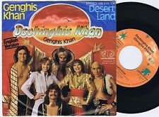 DSCHINGHIS KHAN Genghis Khan English Version German 45PS 1979 Eurovision
