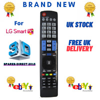 Replacement TV Remote Control for LG AKB73756523