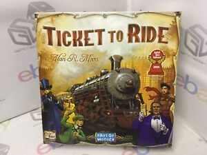 Days of Wonder Ticket To Ride by Alan Moon Train Adventure Board Game-USA VGC