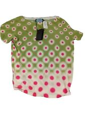 Prada NWT shirt cute pink green medium
