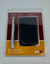 Tungsten & Zire palmOne 3208WW Essentials Kit Case and Stylus black handheld