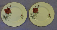 "Royal Albert ""Sweet Romance"" 2 x Side Plates (6.5"" / 16cm) Bone China"