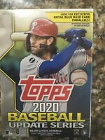 2020 Topps MLB Baseball Update Series Retail Blaster Box - New & Sealed