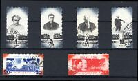 Russia.1934, 10 Years Without Lenin, set of 6 (SG 667-672), used.