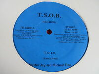 """12"""" SINGLE MASTER JAY AND MICHEAL DEE T.S.O.B. (PART 1&2) T.S.O.B. RECORDS"""