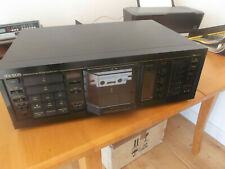 More details for nakamichi cassette deck,rx 505 auto reverse,mint.collect only.110 volt.