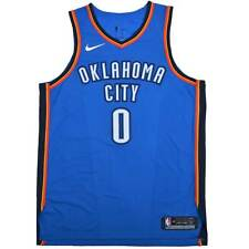 95426e71cce Nike Russell Westbrook  0 Icon Edition Oklahoma City Thunder NBA Jersey  Size 56