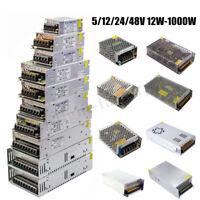 Switch Power Supply Driver AC 110-220V To DC 5V 12V 24V 48V Adapter LED Lamp