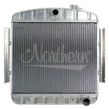 205122 Northern 55-57 Chevy V8 Aluminum Downflow Radiator + Transmission Cooler