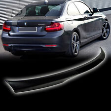 Unpainted BMW 2-Series F22 2DR Coupe M4 Type Trunk Spoiler M235i 220i  220d 2016