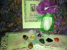 Large Tumble stones Crystal healing Reiki Chakra Scrying Wicca BUY 4 GET 2 FREE