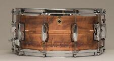 Ludwig * gratuit uk & eu livraison * cuivre-phonic 14 6.5 copper snare drum LC663 raw