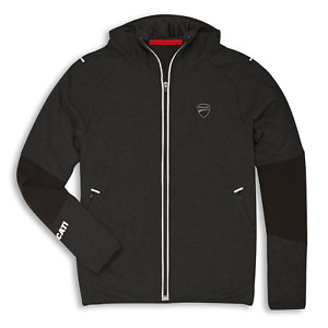 Ducati Reflex Attitude Hoody Sweatshirt Full Zip New Sweatshirt Jacket