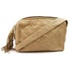 Chanel Shoulder Bag  Beiges Leather 1404436